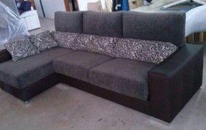 sofa estampado tapizado