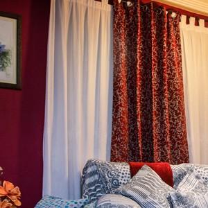 Cortinones en Las telas de tu casa